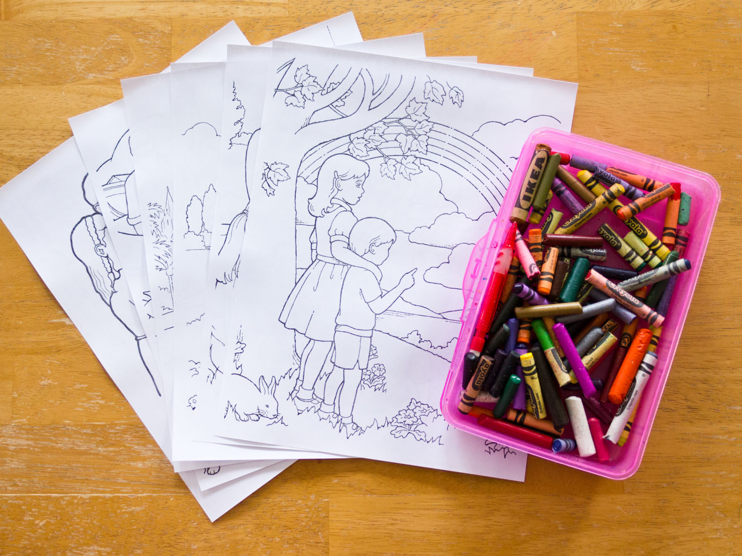 General Conference Activities Coloring Supplies