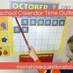 Calendar Time – Preschool
