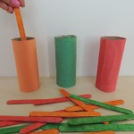 General Conference Activities — Paper Tube and Popsicle Sticks, Pipe Cleaner Patterns