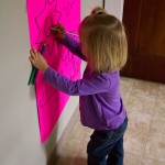General Conference Activities — Vertical Surface Drawing, Magnetic Letter Match
