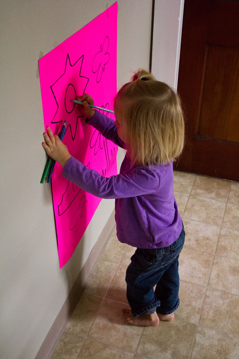 General Conference Activities - Vertical Surface Drawing