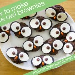 Halloween Owl Brownies
