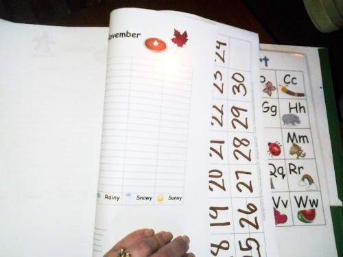Preschool Journal - Weather and Attendance All Pages