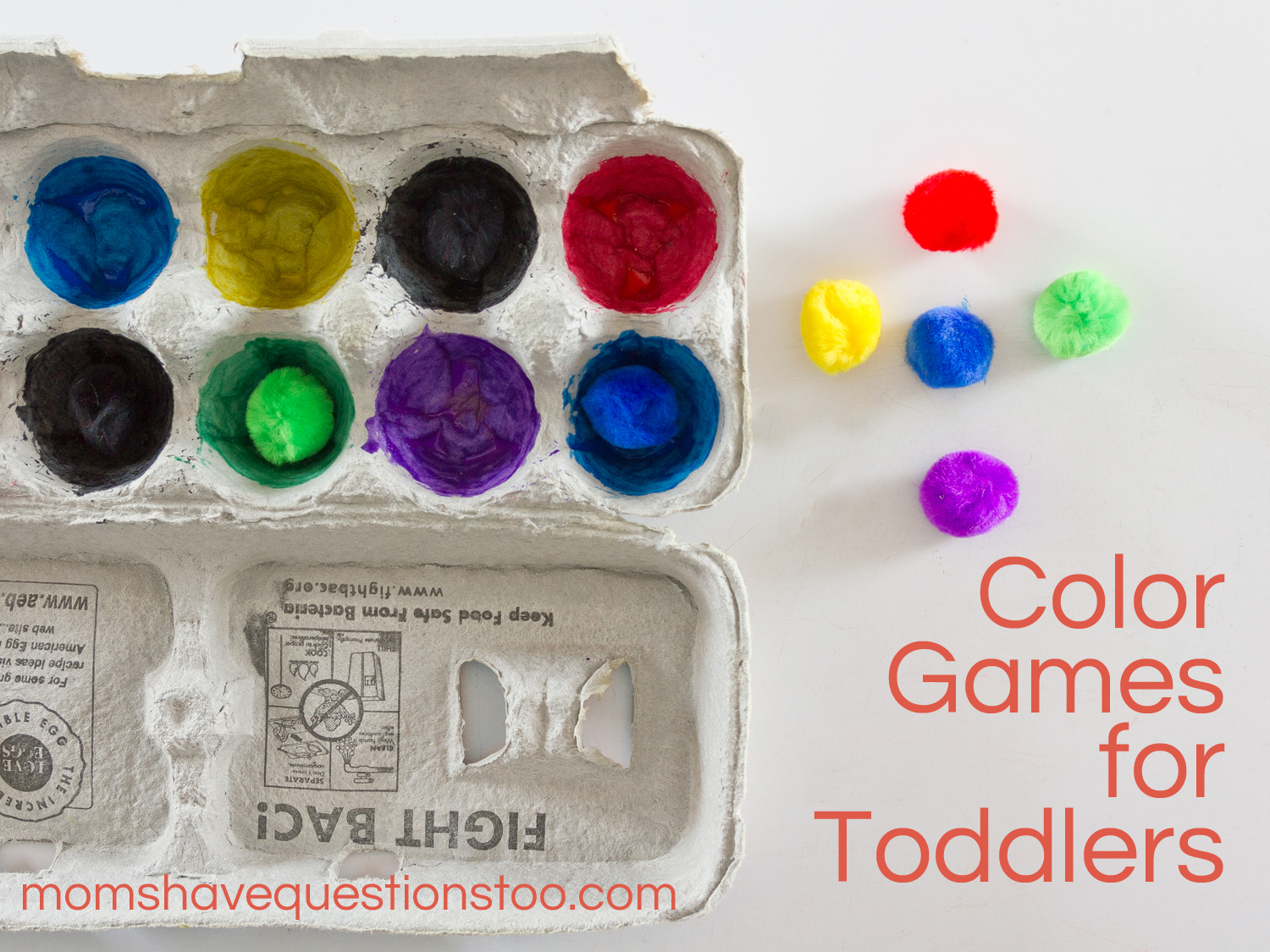 Color Games for Toddlers Part 1 - Moms Have Questions Too