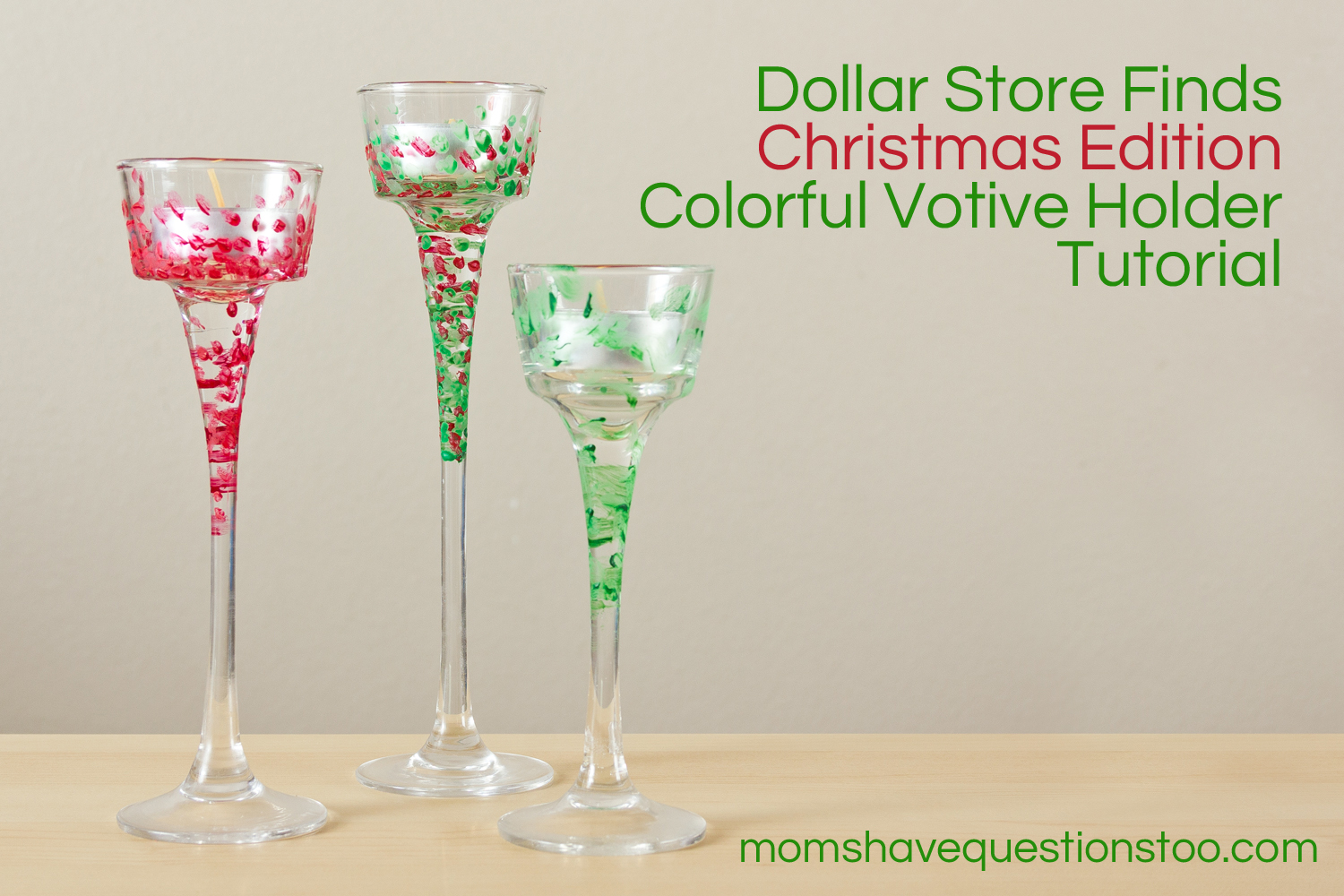Dollar Store Finds Christmas Activity -- Moms Have Questions Too