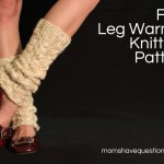 Chunky Cabled Legwarmers/Boot Socks