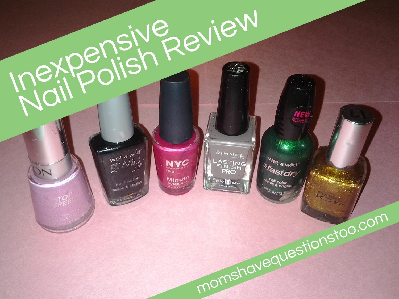 Inexpensive Nail Polish Review