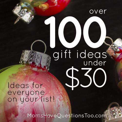 Inexpensive christmas gift ideas moms have questions too Christmas ideas for mothers
