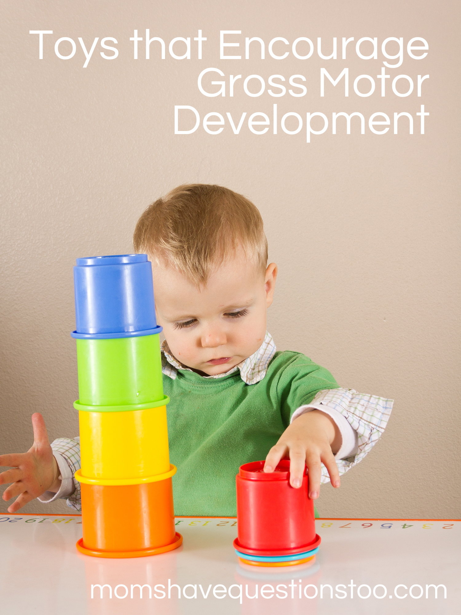 Toys that Help with Gross Motor Development Moms Have Questions Too