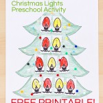 Christmas Lights Preschool Activities