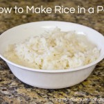 Cooking for College Students — How to Cook Rice