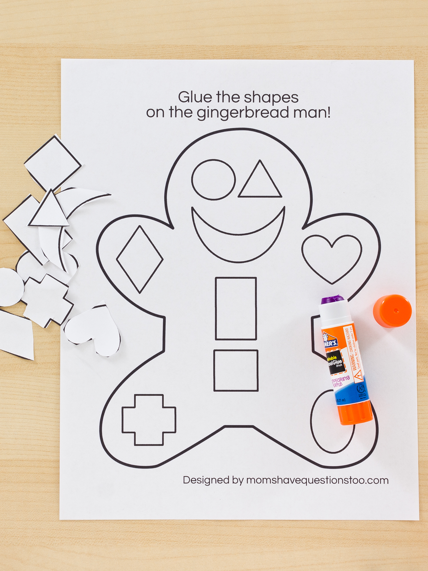 worksheet Preschool Cut And Paste Worksheets 1 99 cut and paste activity pack moms have questions too