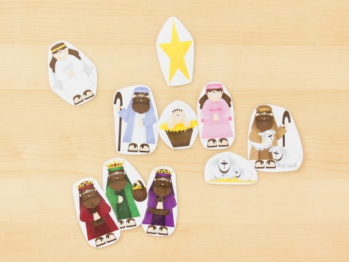 Nativity Word Cards -- Moms Have Questions Too