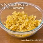 How to Cook Pasta in the Microwave