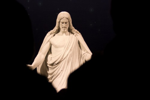Visit the Christus at Temple Square -- Moms Have Questions Too