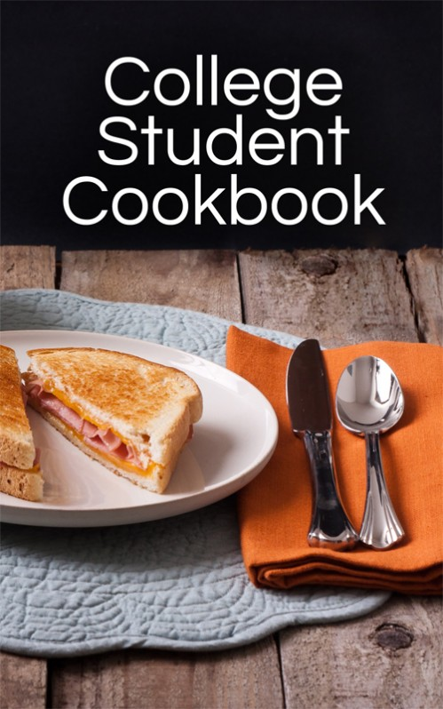 Great gift idea! College Student Cookbook by Moms Have Questions Too -- Just $9.50 on Amazon!