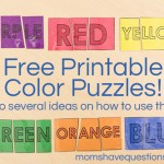 Color Games for Toddlers Part 4 — Color Puzzles