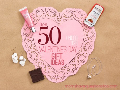 Inexpensive Valentine Gift Ideas for Him, Her, and the Kids all under $20!