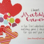I Heart Matching Games – Guest Post