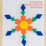Snowflake Pattern Blocks Templates
