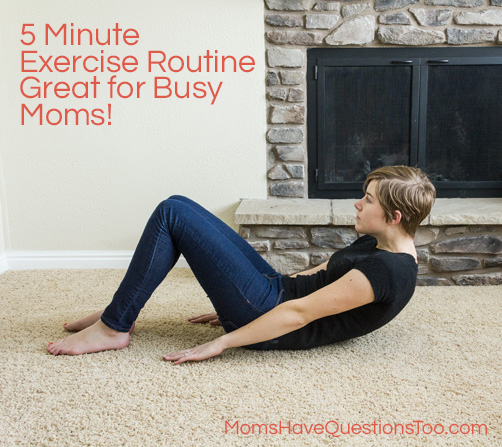 At Home DIY Exercise Program for Moms -- Moms Have Questions Too