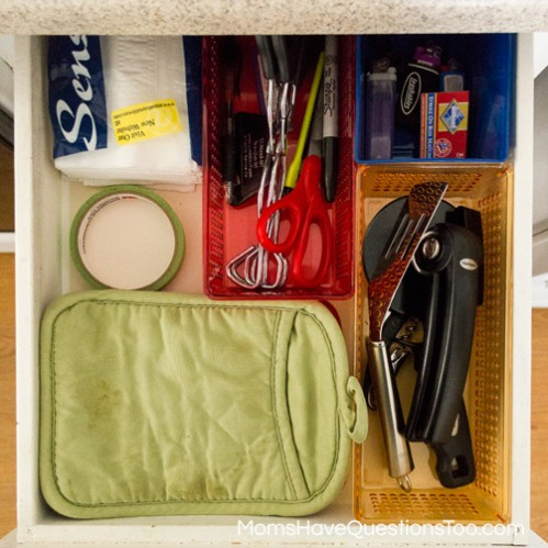 Home Organization Ideas -- Moms Have Questions Too