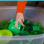 Color Games for Toddlers Part 10 — Sensory Bins