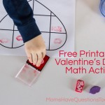 Valentine's Day Math Stamping Activity