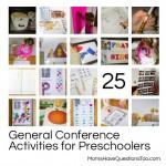 25 General Conference Activities for Preschoolers