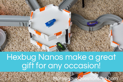 Hexbug Nanos in Action - A Review of Hexbug Nanos -- Moms Have Questions Too