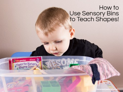 How to Teach Shapes to Toddlers and Preschoolers -- Moms Have Questions Too