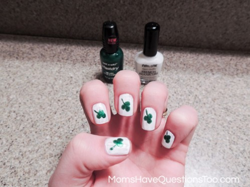 Spring Nail Art Ideas Using Dots -- Moms Have Questions Too