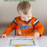 Teach Shapes by Decorating Shapes!