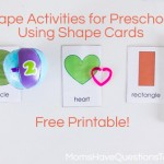 5 Shape Activities for Preschoolers Using Shape Cards