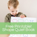 Shape Quiet Book – To Help Teach Shapes