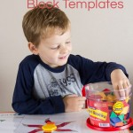 Spring Pattern Block Templates