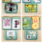 Bug Themed Tot School Trays