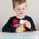 Shape Sorting Cut and Paste Activity