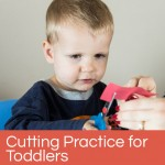 Shapes Cutting Practice for Toddlers