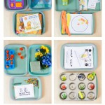 Spring Themed Montessori Tot Trays