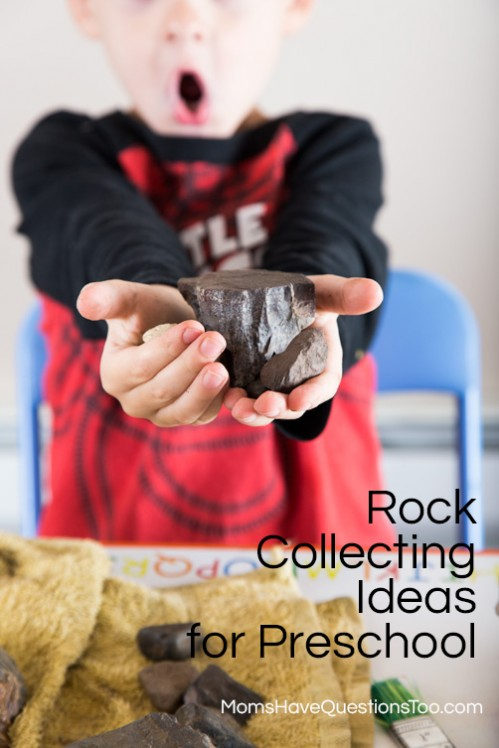 Start a rock collection with your preschooler www.momshavequestionstoo.com