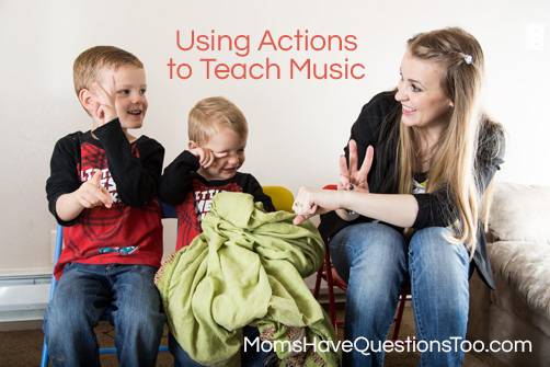 Using Hand Signals and Actions to Teach Music to Toddlers momshavequestionstoo.com