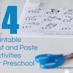 Cut and Paste Activities Roundup
