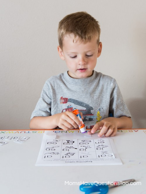 Fun Cut and Paste Activity for Preschool - Moms Have Questions Too