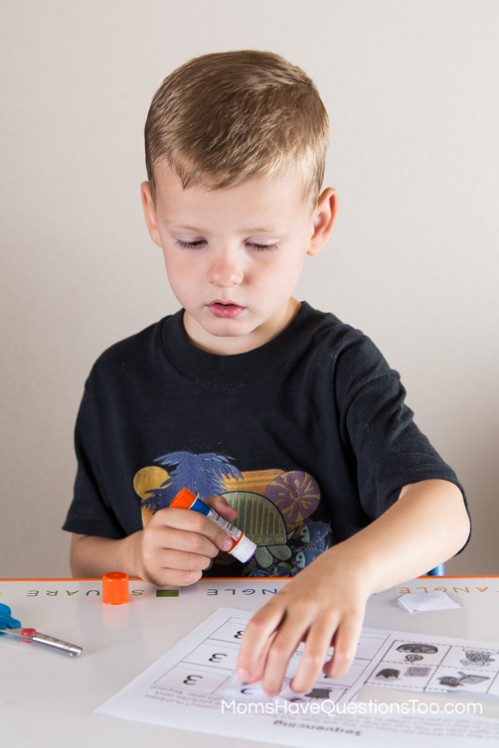 Plant a Seed Sequencing Cut and Paste Activity for Preschool - Moms Have Questions Too
