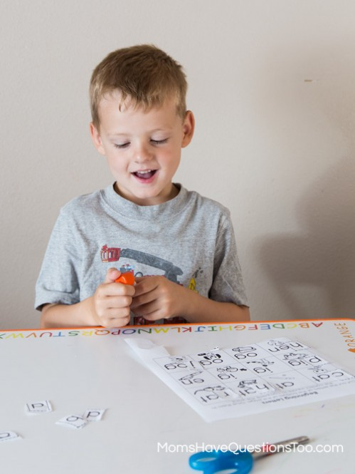 Preschool Cut and Paste Activity - Moms Have Questions Too