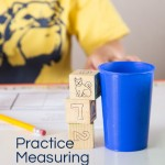 Measure with Blocks: Fun Preschool Measuring Activity