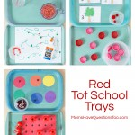 Red Tot School Trays