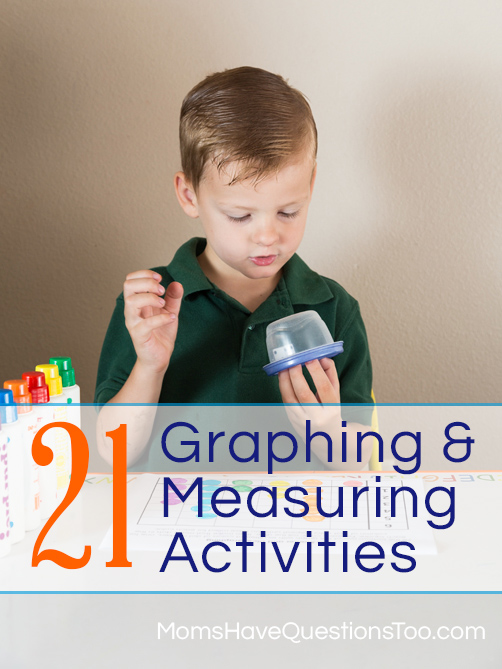 21 Graphing and Measuring Activities for Preschoolers - Moms Have Questions Too