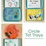 Circle Tot School Trays